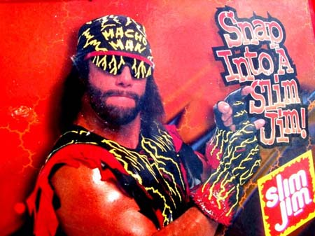 Gallery For > Snap Into A Slim Jim Randy Savage